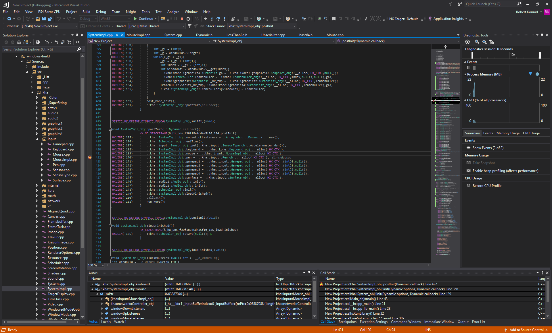 Visual Studio Debug 1