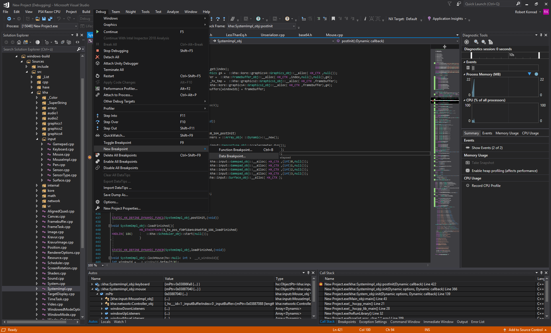 Visual Studio Debug 2