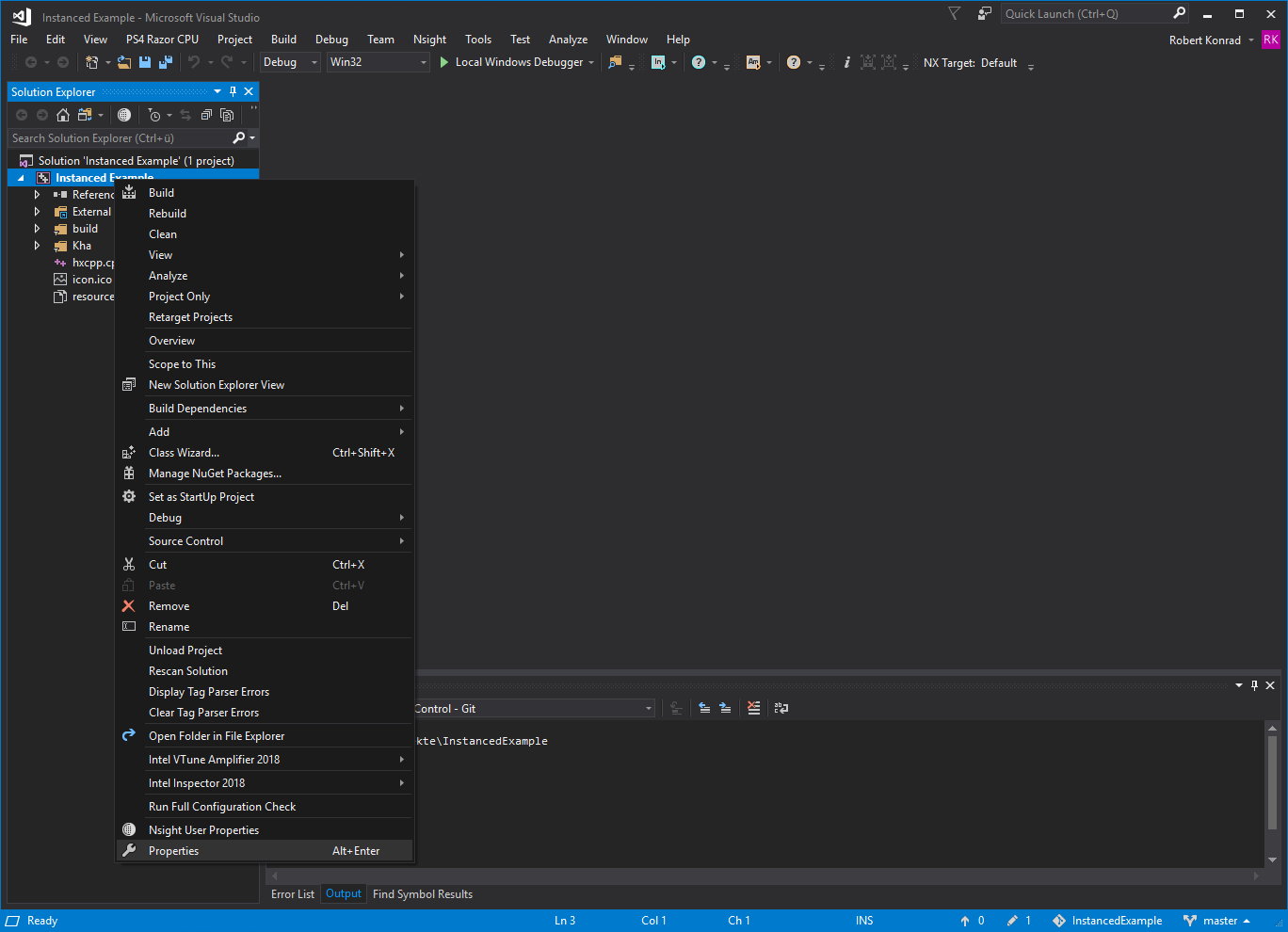 Visual Studio Windows SDK selection 1